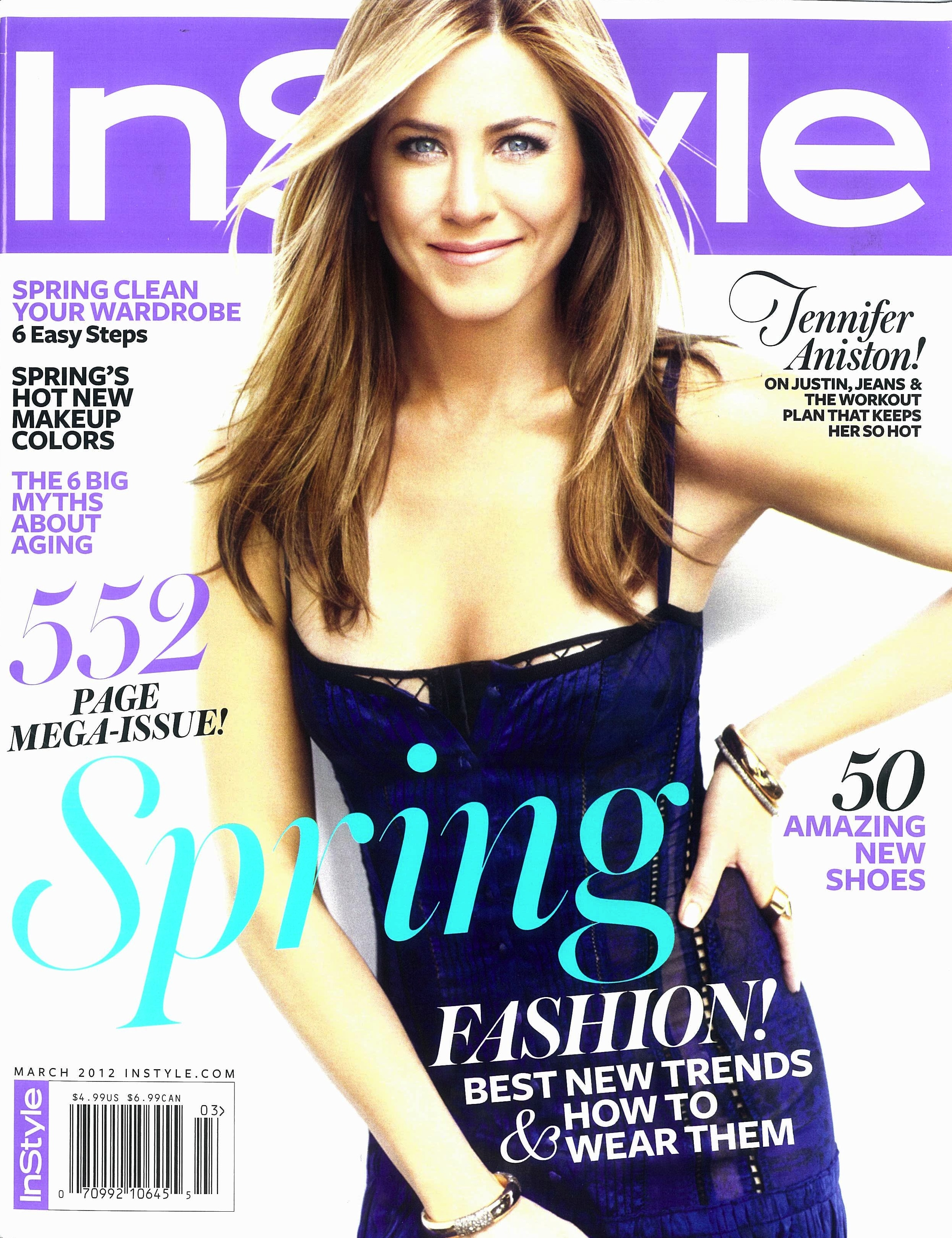 spotted jennifer aniston wears pomellato to instyle magazine photoshoot hamilton jewelers. Black Bedroom Furniture Sets. Home Design Ideas