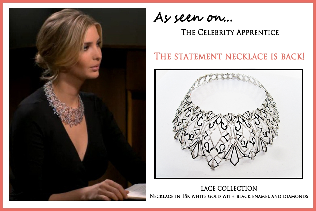 "Spotted! Ivanka Trump Wears Her Eponymous Collection on ""Celebrity ..."