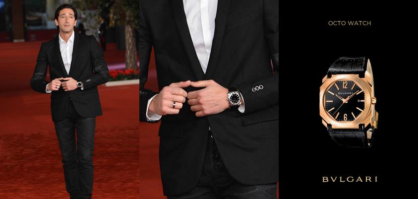 Timepieces: See the Ce... Adrien Brody Home