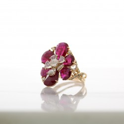 Ruby Flower Ring04