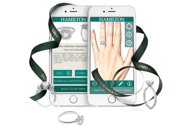 Virtual try on engagement ring app