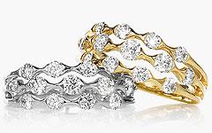 Hamilton Jewelers Wave Collection
