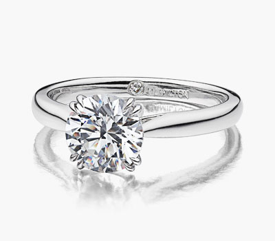 Centennial collection diamond engagement rings