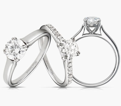 Cherish collection diamond engagement rings