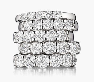 Destiny collection diamond rings