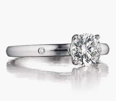 Hamilton Signature engagement ring collection