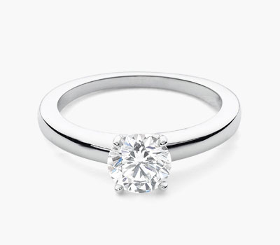 Hamilton Solitaire engagement ring collection