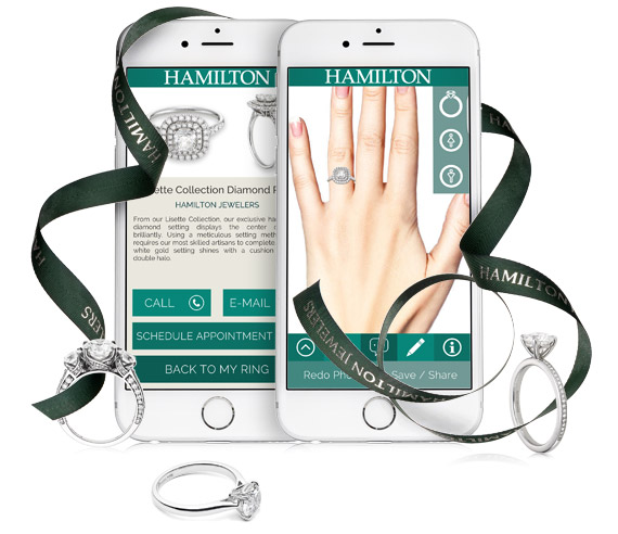 Hamilton Jewelers ring app