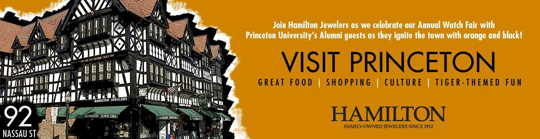 Visit Hamilton Jewelers in Princeton