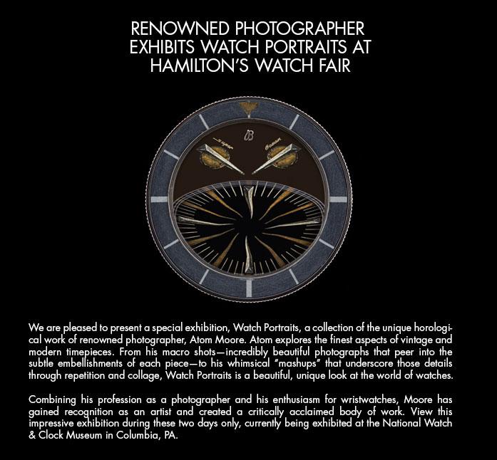 Watch portrait exhibit