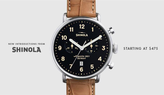 Shinola Watches, Made in Detroit