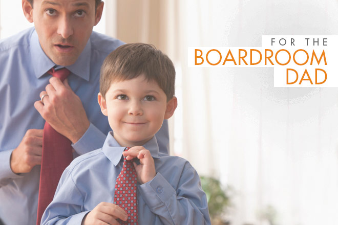 The Boardroom Dad