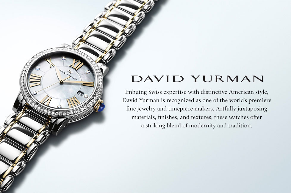 David Yurman Swiss expertise
