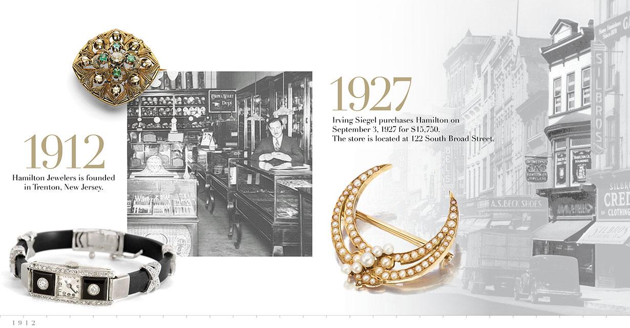 Hamilton Jewelers Timeline Image 1