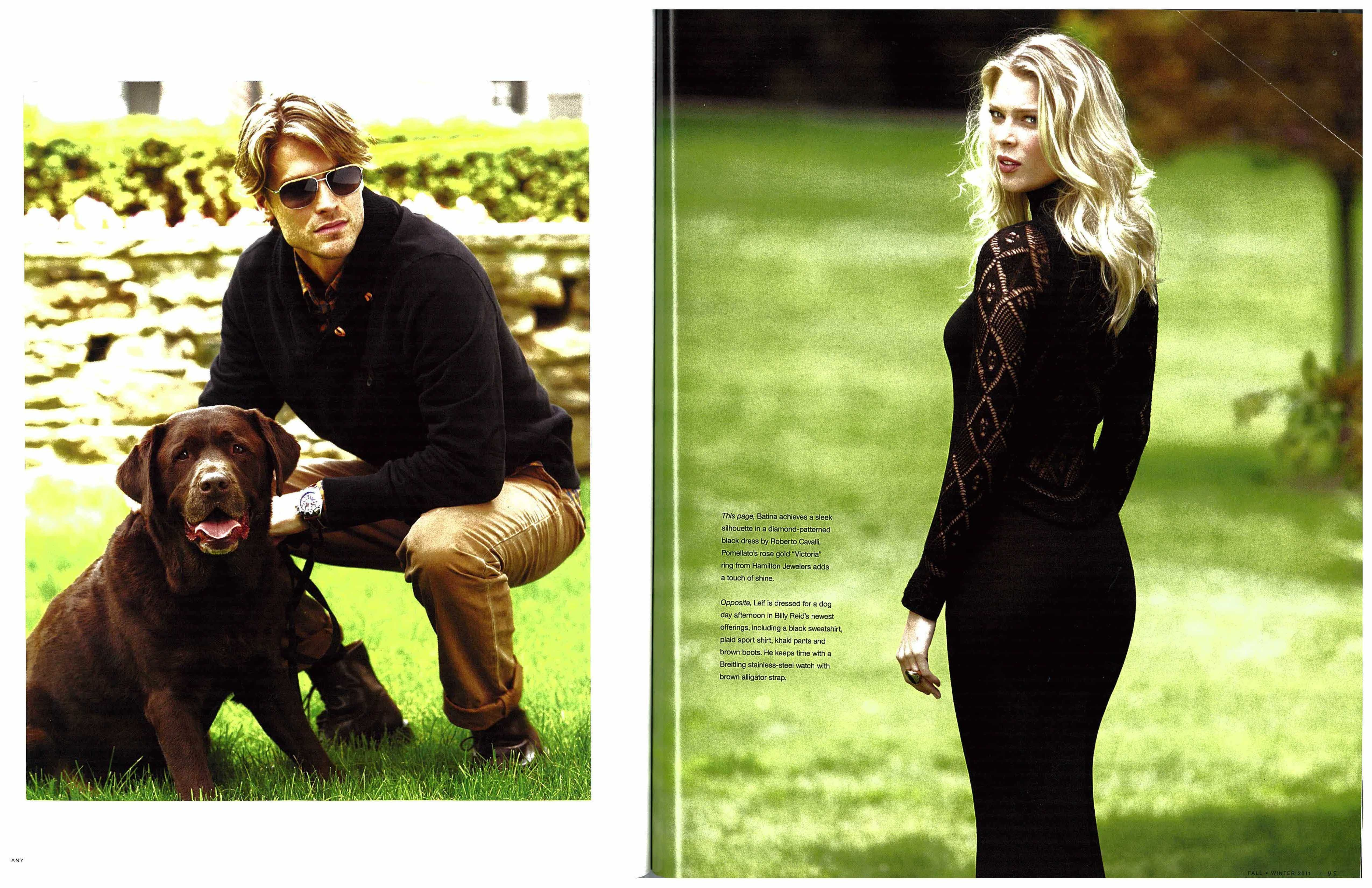Look Good this Fall in Hamilton Pieces As Seen In Garmany Magazine ...