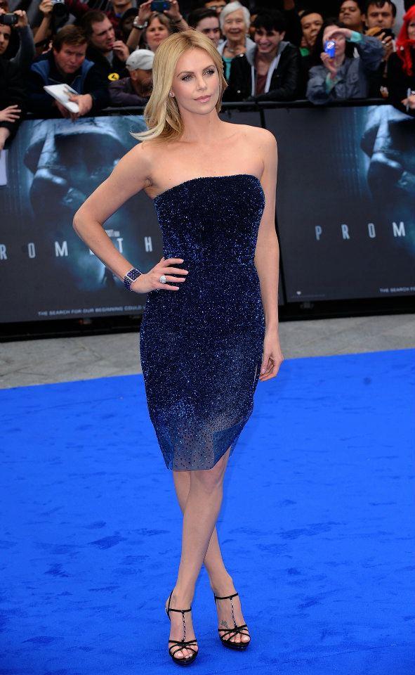 Spotted Charlize Theron Wears Bulgari Around The World