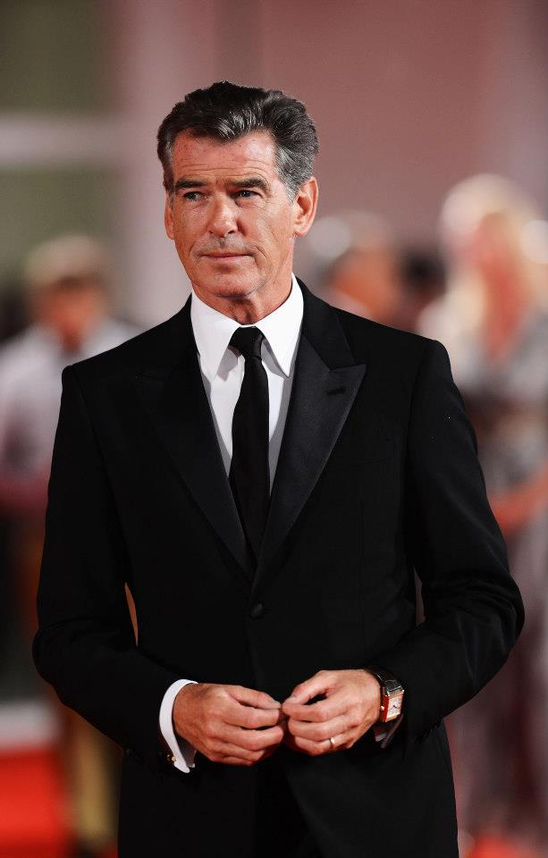 Spotted! Pierce Brosnan Wears His Jaeger-LeCoultre Reverso ...