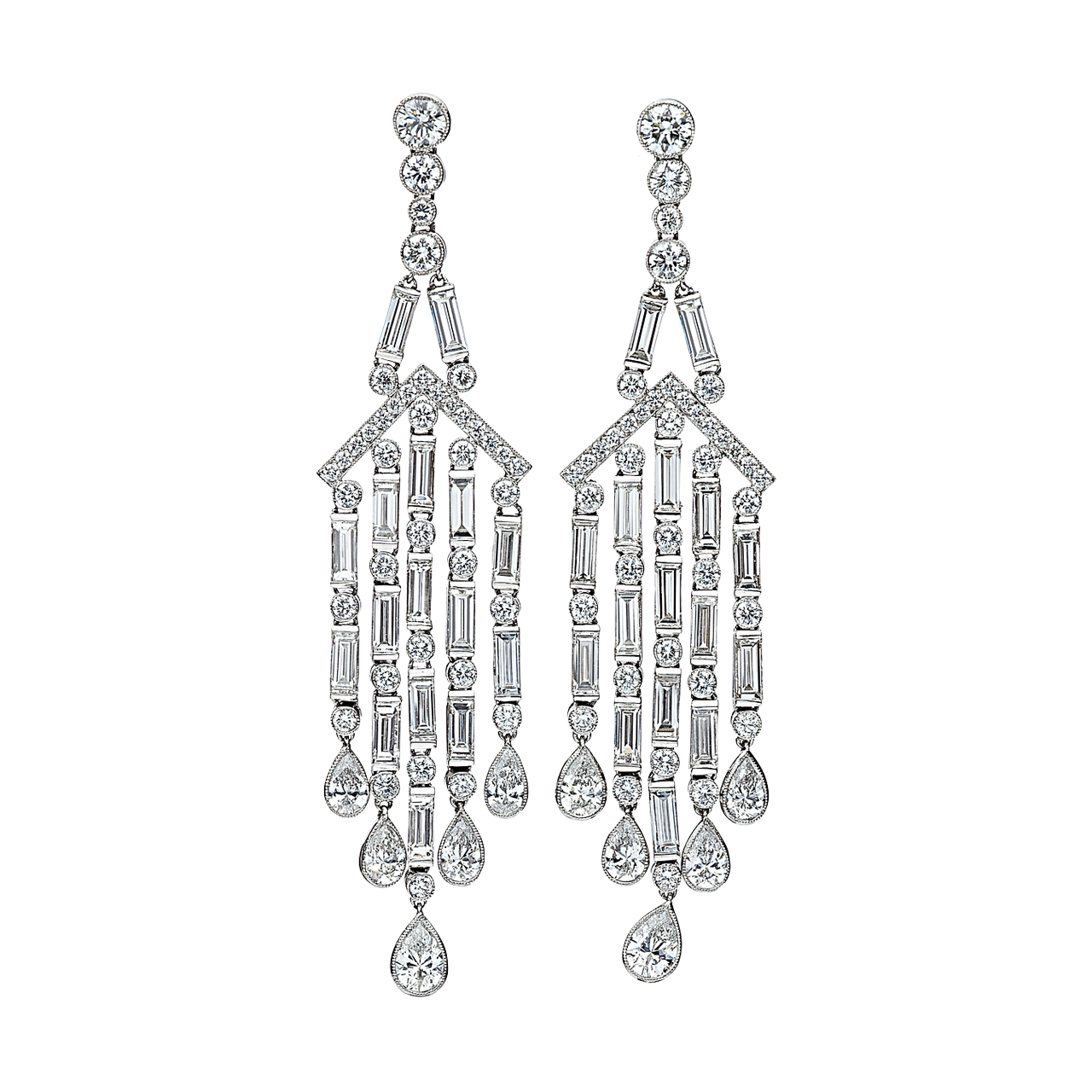 New year new trends what to expect in 2013 hamilton jewelers these decadent designs made from precious stones and metals are extremely comfortable and wearable like our platinum and diamond chandelier earrings arubaitofo Gallery