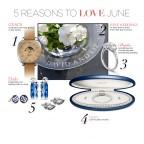 June at Hamilton Jewelers