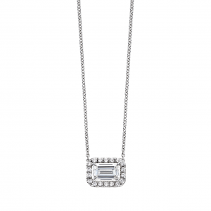 Put a emerald cut ring on it hamilton jewelers if rings arent your thing pull a carrie bradshaw and wear your diamond around your neck with this emerald cut diamond pendant from our lisette collection aloadofball Choice Image