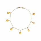 Calypso Citrine Bracelet