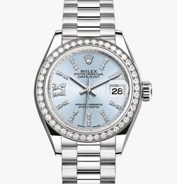 Rolex Lady Date Just Platinum