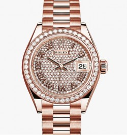 Rolex Lady Date Just Rose Gold