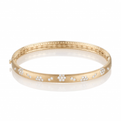 Fleur Diamond Gold Bracelet