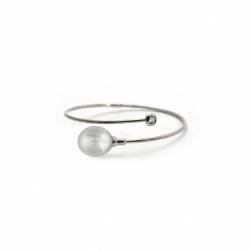 White Gold South Sea Pearl Bracelet