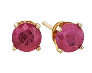 Rubies are the July birthstone and make excellent gifts!