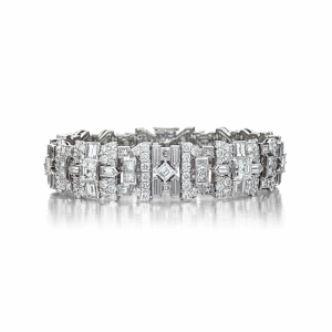 Art Deco bracelets are stunning works of art that will make your entire vintage look glamorous.