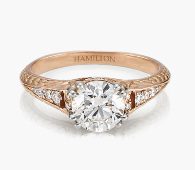 1912 Collection diamond engagement rings