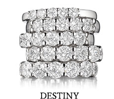 The Destiny bridal engagement ring collection