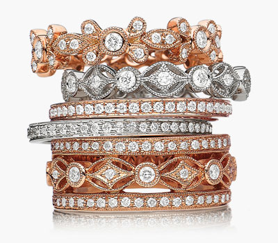 Heritage diamond ring collection