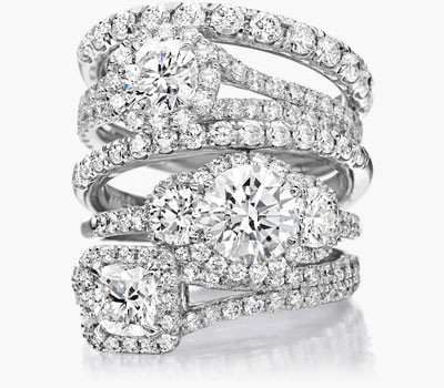 Lisette diamond ring collection