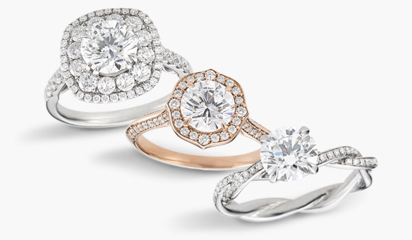 Recently added bridal engagement rings