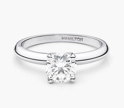 Hamilton Select engagement ring collection