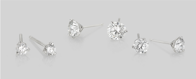 Diamond Stud Collection: A Must-Have Classic for Any Wardrobe & Occasion
