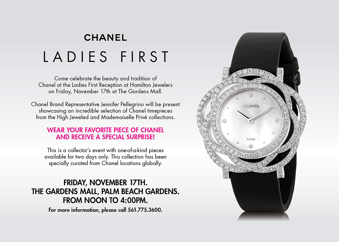 CHANEL Ladies First Event