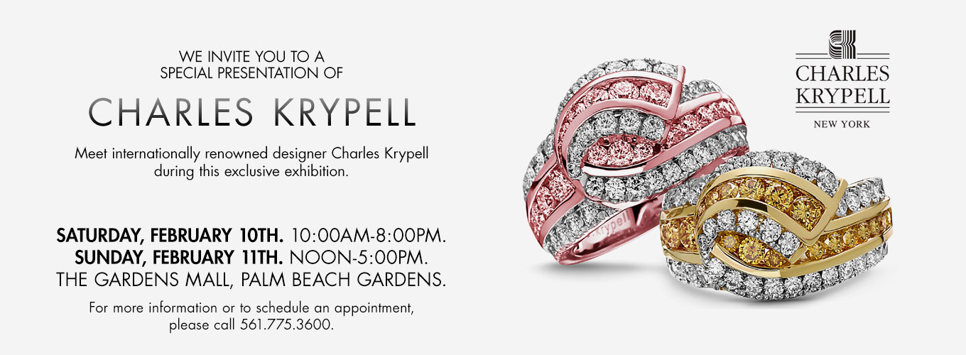 Charles Krypell Jewelry Event