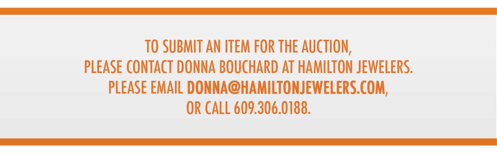 to submit an item for auction