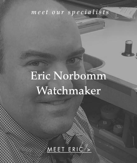 Meet Eric Norbomm: Watchmaker