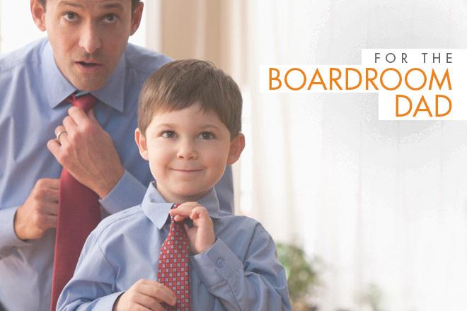 The Boardroom Dad