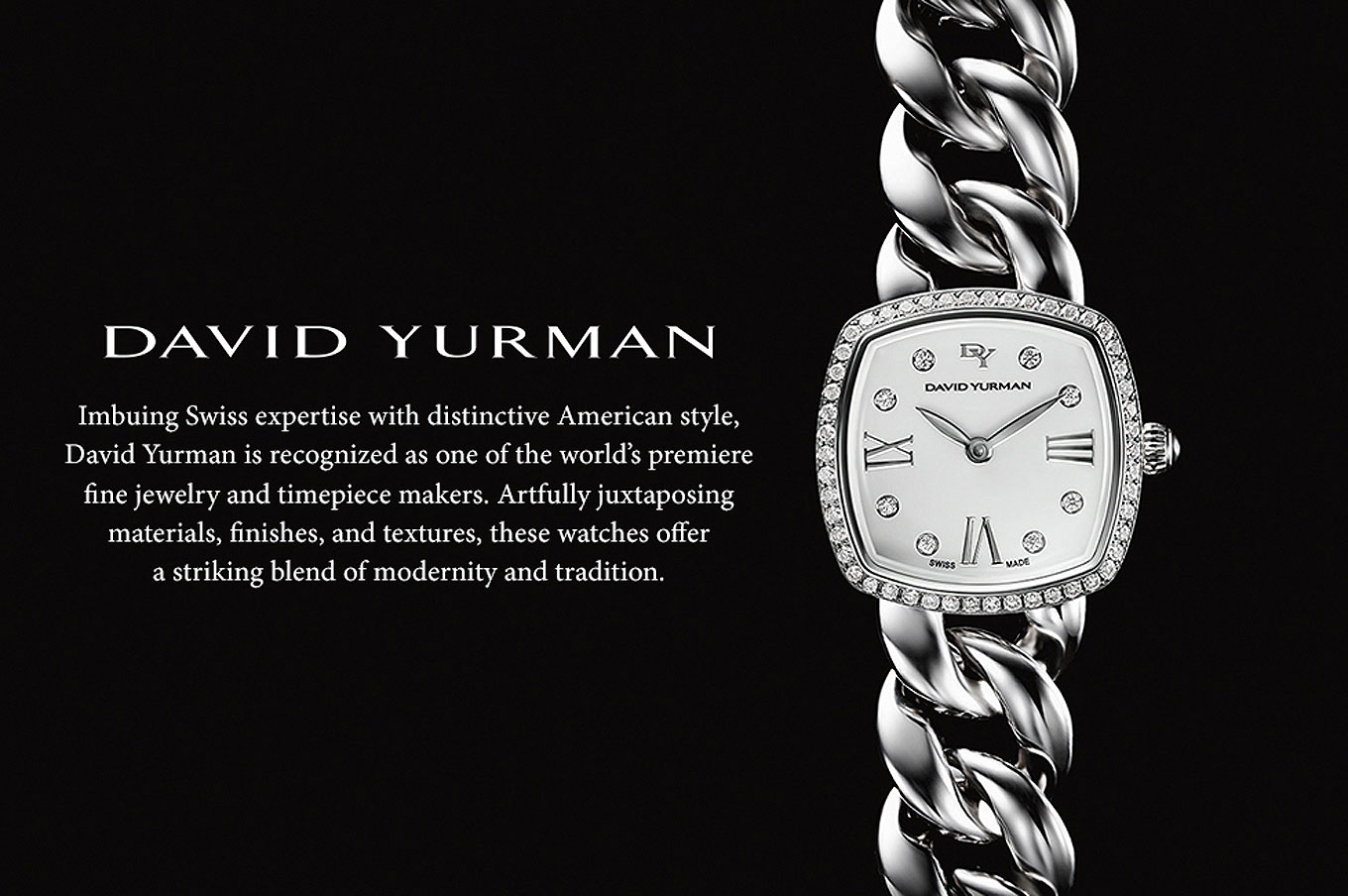 David Yurman Swiss expertise