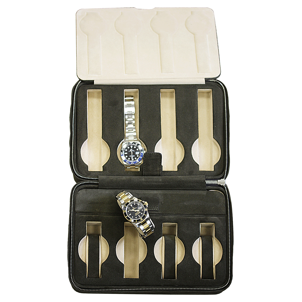 Hamilton Italian Leather Case For Eight Watches