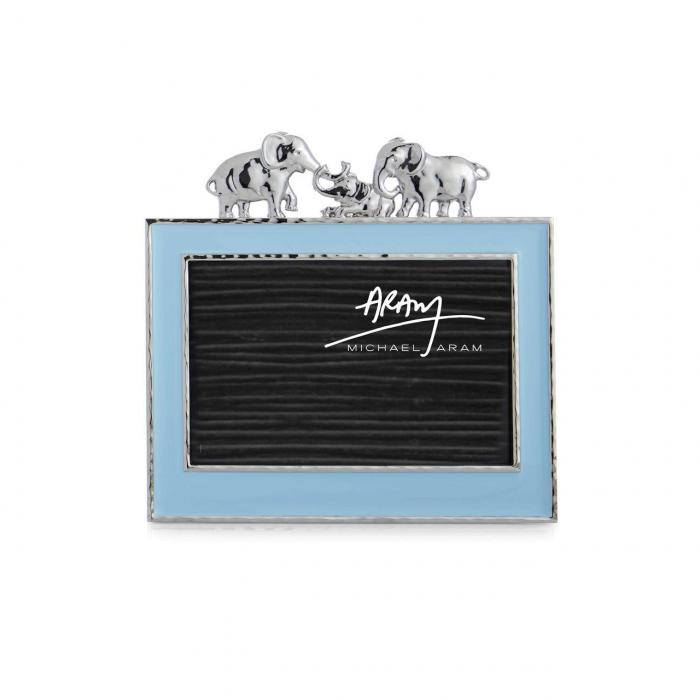 Michael Aram Blue Enamel Elephant Frame