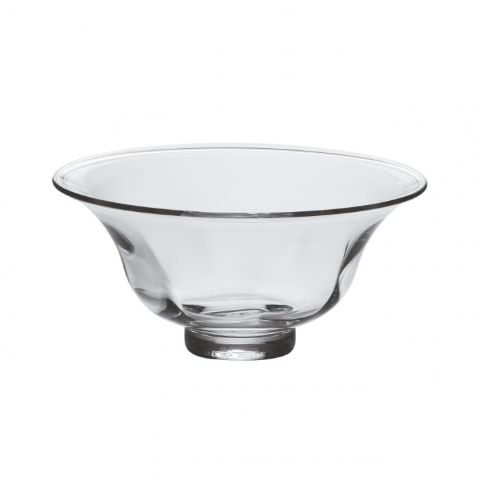 fine crystal bowl, see through