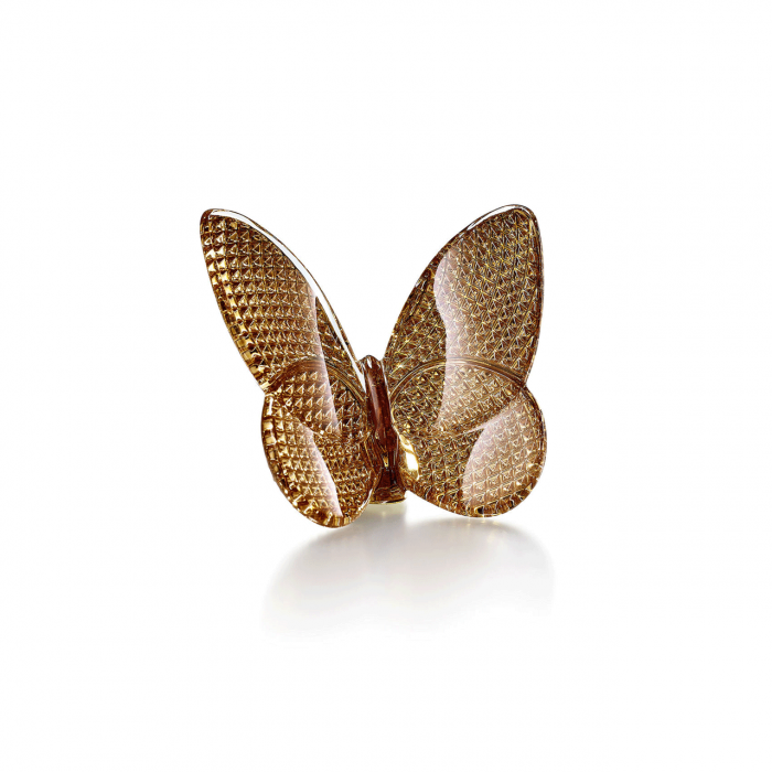 Baccarat Butterfly Lucky Diamond Gold