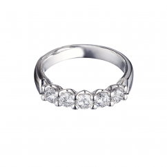Destiny Platinum 1.00ct Diamond Ring