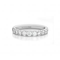Lisette Platinum .25 Diamond Band